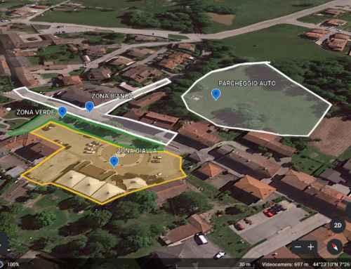 Partenza – Arrivo GARA – divisione zone in base alle normative COVID